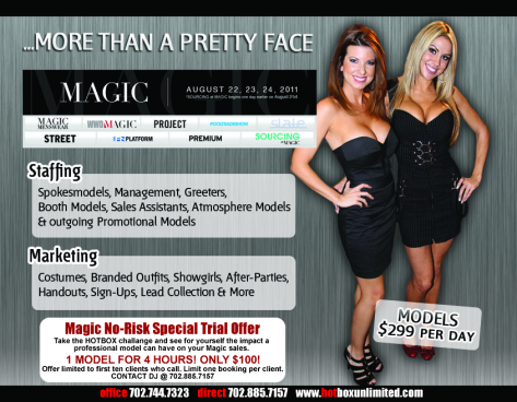 Magic Flyer Front