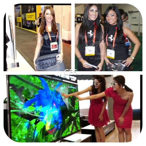 CES Booth Models